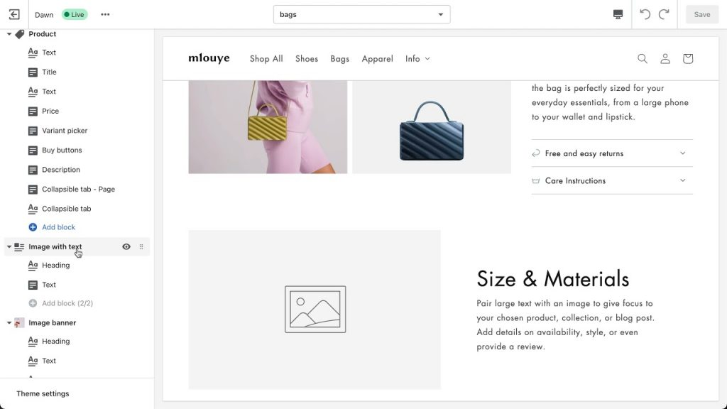 shopify store 2.0